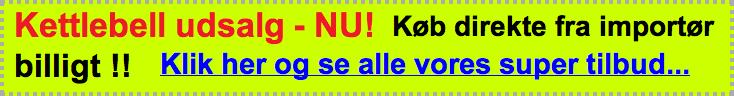 kettlebell tilbud