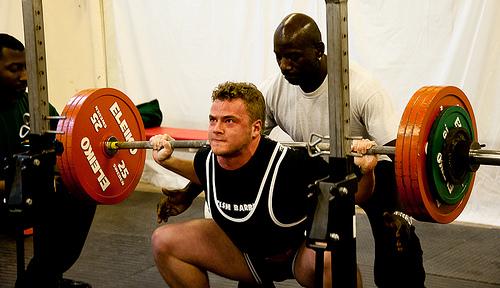 Brutal ben træning
